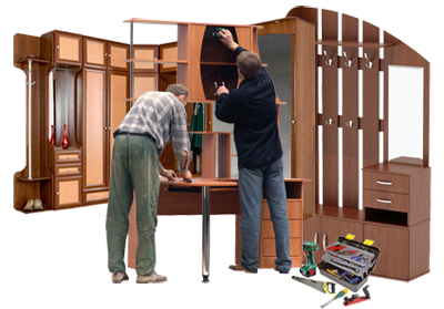 Сборка корпусной мебели на дому - мастера