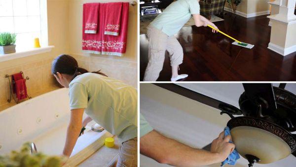 Комплексная уборка домов